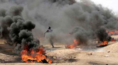 Kudüs'te gergin bekleyiş sürerken Gazze karıştı, 9 Filistinli şehit