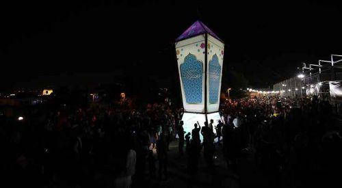 Kudüs'te Filistinlilerin 'en büyük kandil' yürüyüşü