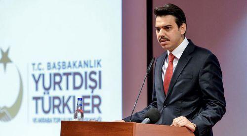 YTB'nin yeni başkanı Abdullah Eren görevine başladı