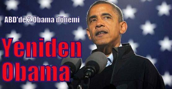 Barack Obama yeniden başkan