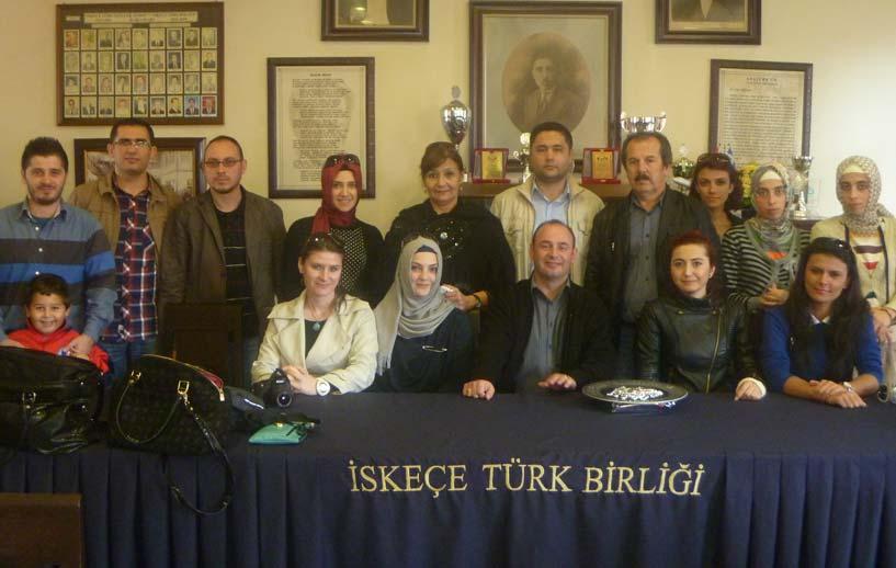 Okul Öncesi Eğitimi Yaygınlaştırma ve Geliştirme Derneği'nden İskeçe Türk Birliği'ne Ziyaret
