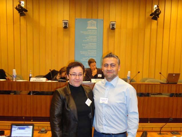 Batı Trakya Azınlığı Yüksek Tahsilliler Derneği UNESCO-AGİT-AVRUPA KONSEYİ ortak toplantısına katıldı