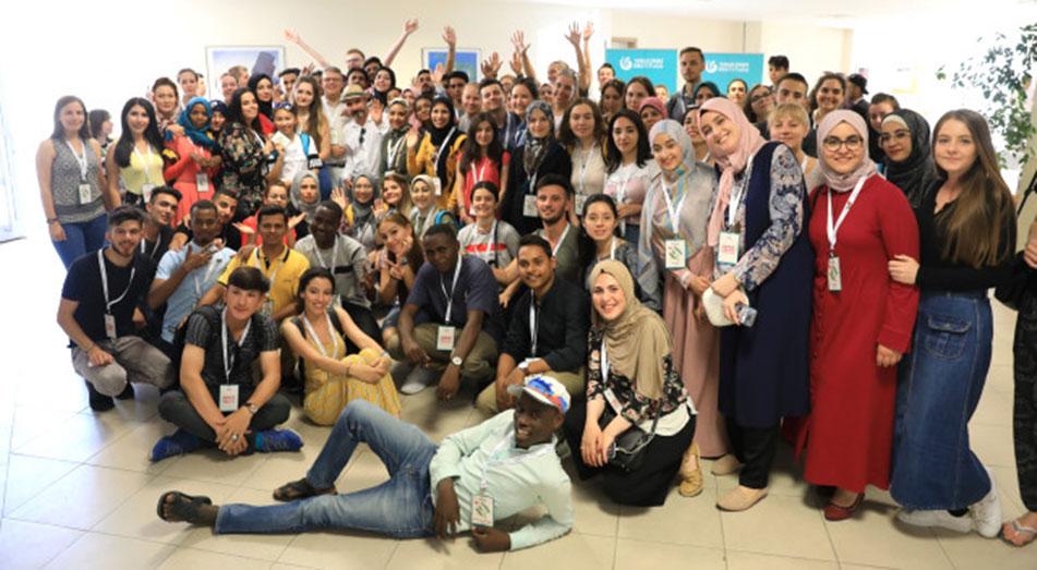 Türkçe Yaz Okulu'nda gençler Türkçelerini geliştiriyor