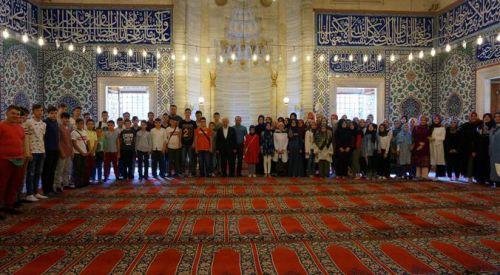 İskeçe ve Gümülcine'den 65 öğrenci Değerler Eğitimi Programı için Edirne'de