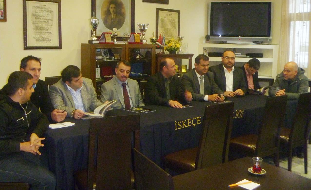 AK Parti Yıldırım İlçe Başkanlığı'ndan İskeçe Türk Birliği'ne Ziyaret