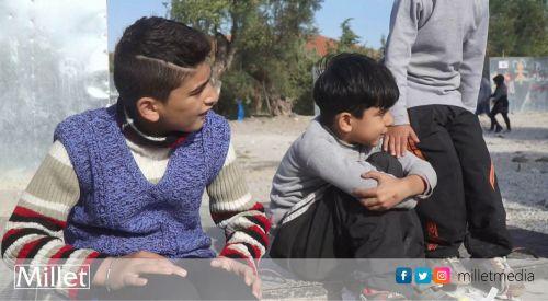 """""""Yunanistan'daki sığınmacı kampında çocuklar intihar teşebbüsünde bulunuyor"""""""