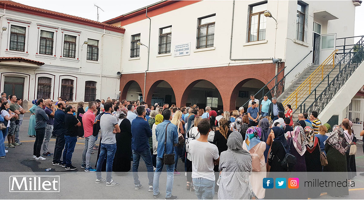 İskeçe Merkez Türk İlkokulu velilerinden eylem kararı