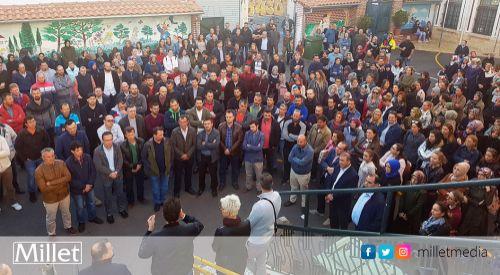 İskeçe'de toplanan Encümen Heyetleri eyleme devam etme kararı aldılar