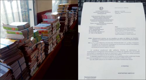 Söz verilen komisyon kuruldu, kitaplar okullara gelmeye başladı