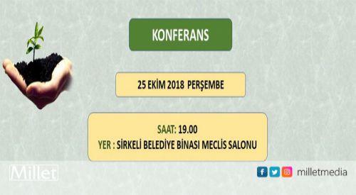 Kozlukebir Belediyesi konferans düzenliyor