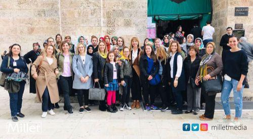 Batı Trakyalı kadınlar Bursa'yı ziyaret etti