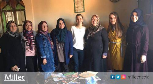 BTAYTD Kadınlar Kolu Değirmendere köyü bayanlarını ziyaret etti