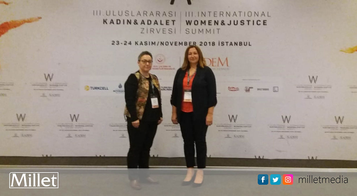 III. Uluslararası Kadın ve Adalet Zirvesi`nde Batı Trakya Türklerini temsil ettiler