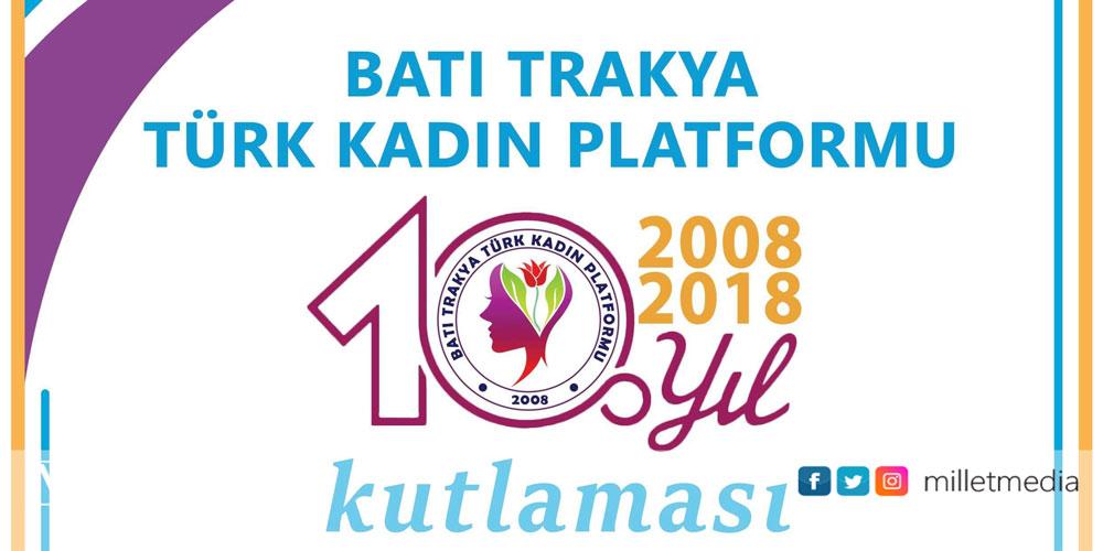 Kadın Platformu 10'cu kuruluş yılını etkinlikle kutlayacak