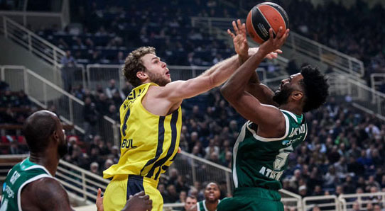 Panathinaikos - Fenerbahçe: 69-81