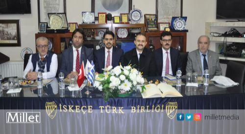 YTB Başkanı Abdullah Eren Batı Trakya'yı ziyaret etti