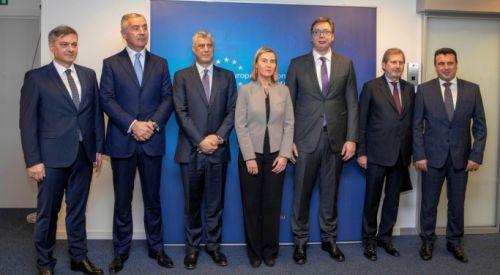 Batı Balkan ülkeleri AB perspektiflerini teyit etti