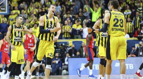 Fenerbahçe THY Avrupa Ligi'nde liderliğini sürdürüyor