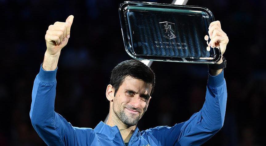 Djokovic Avrupa'da yılın sporcusu seçildi