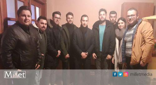Önder Mümin'den Yassıköy Belediyesi Azınlık Kültür Derneği'ne ziyaret