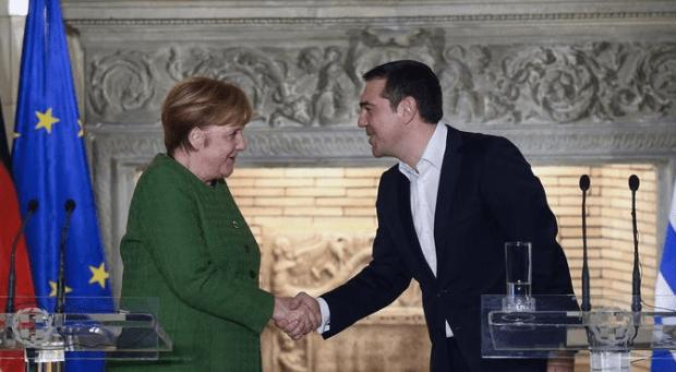 Merkel Yunanistan'ı neden ziyaret etti?