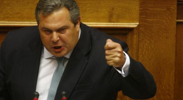Hükümetten ayrılan radikal sağcı Kammenos'un ANEL'i paramparça