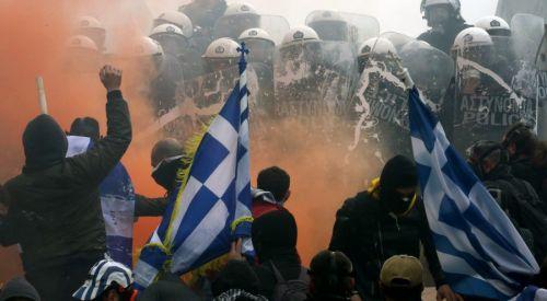 Atina'daki protestolarda 2 Türk'ün gözaltına alındığı iddia edildi
