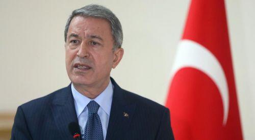 Savunma Bakanı Akar'dan mevkidaşı Apostolakis'e davet