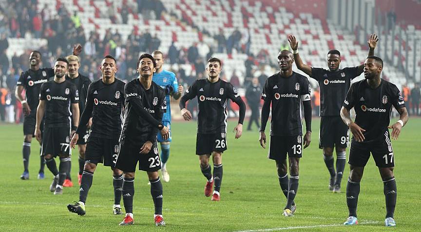 Beşiktaş'tan deplasmanda farklı galibiyet