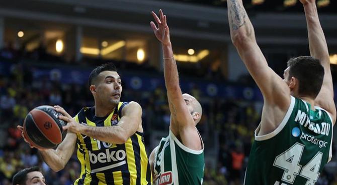 Fenerbahçe Beko, Panathinaikos'u 85-66 mağlup etti