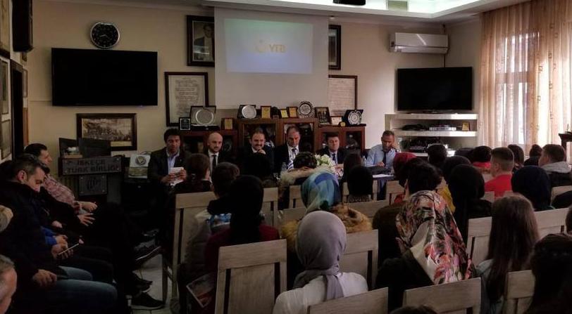 İTB'de Türkiye Bursları Tanıtımı ve Mesleki Rehberlik Semineri