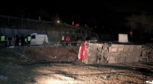Makedonya'da kaza sonrası ulusal yas ilan edildi