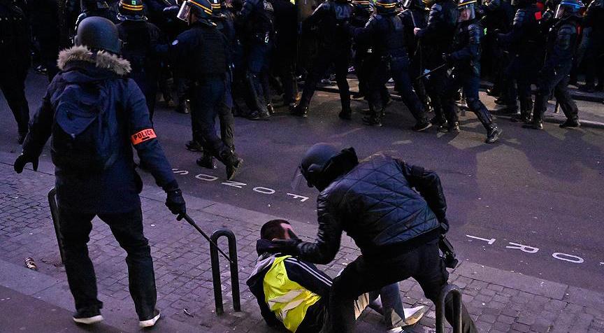 Fransa'da polis şiddetine 140 adli soruşturma
