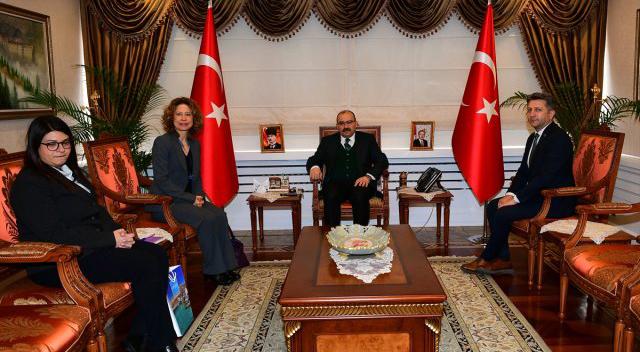 Yunanistan'ın İstanbul Başkonsolosundan Trabzon ziyareti