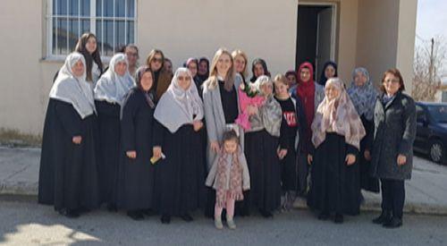 DEB Partisi yöneticileri Demirbeyli köyünü ziyaret etti
