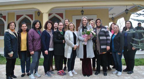 DEB Partisi Melikli köyünü ziyaret etti