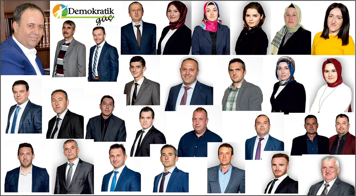 Rıdvan Ahmet meclis üyesi adaylarını açıkladı