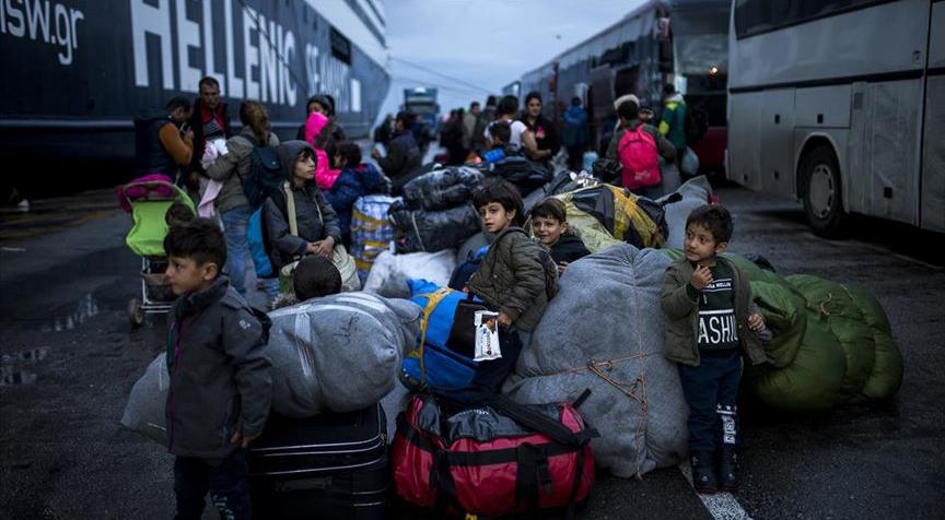 Yunanistan'da mültecilerin evsiz kalma endişesi