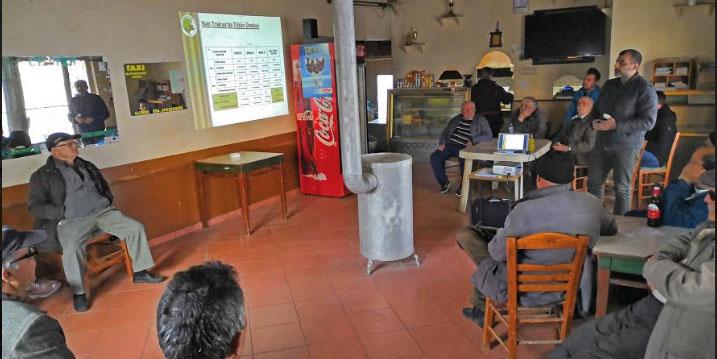 Yalanca köyünde tarım semineri düzenlendi