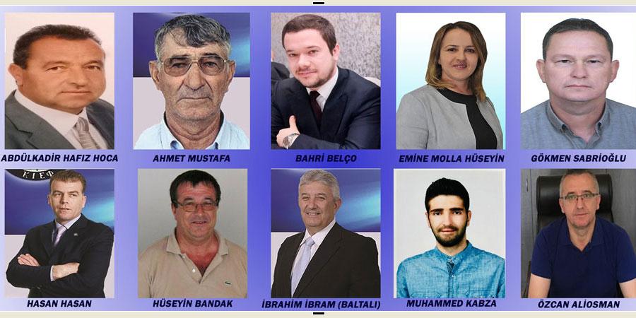 DEB Partisi AP seçimleri için 10 milletvekili adayını açıkladı
