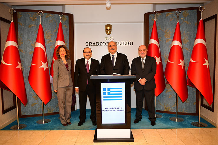 Yunanistan'ın Trabzon'daki 'girişimleri' tepkilere neden oldu