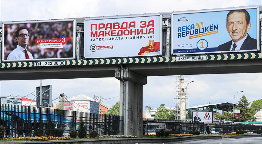 Kuzey Makedonya'da cumhurbaşkanlığı için üç aday yarışacak
