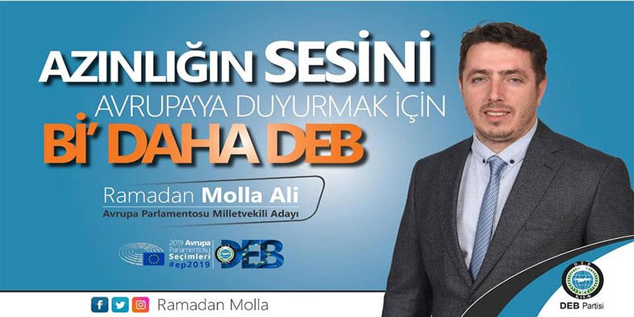 Gazeteci-Radyocu Ramadan Molla Ali, AP Milletvekili adayı oldu