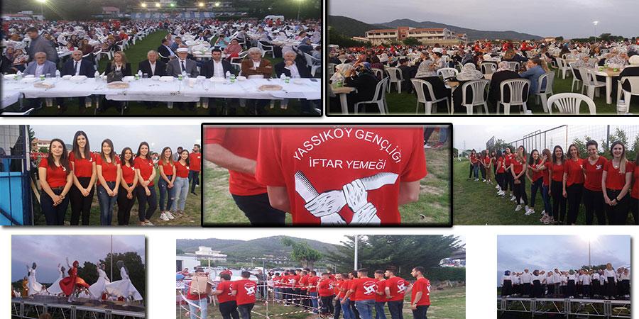 Yassıköy gençleri sundukları hizmetlerle gönülleri fethettiler
