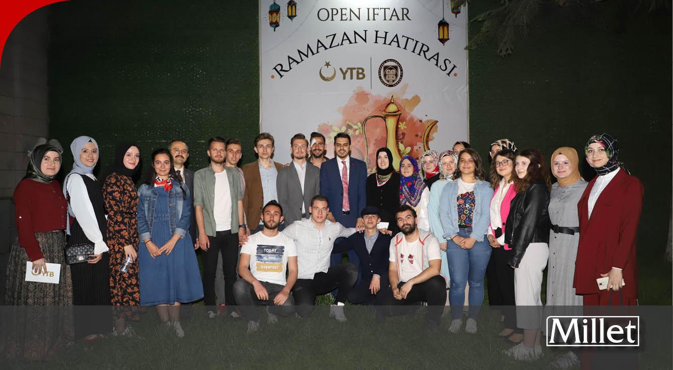 Ankara BATÖB iftar programında YTB Başkanı Eren'le bir araya geldi