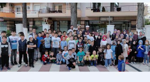 İskeçe'de çocuk iftarı düzenlendi