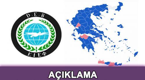 'Batı Trakya Türk Azınlığı'nın hedef tahtasına oturtulmasını kınıyoruz'
