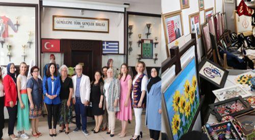 GTGB'de geleneksel el sanatları sergisi açıldı