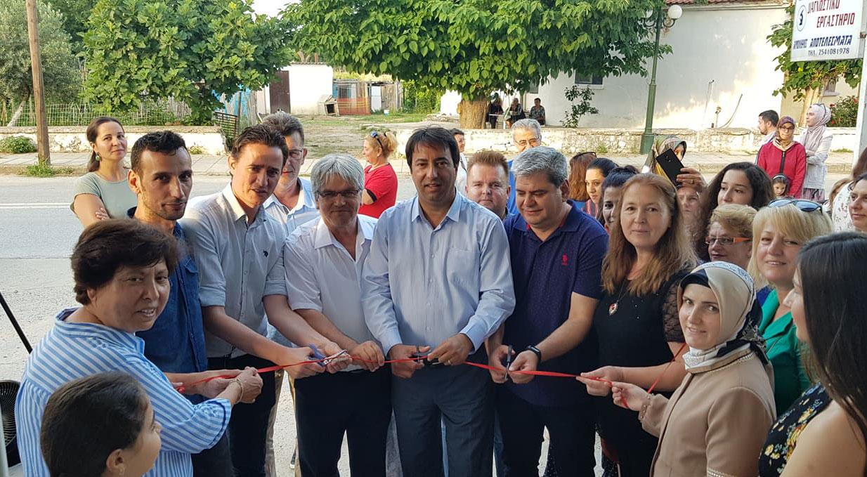 İskeçe Türk Birliği Yenice El Sanatları Kursu'nun yıl sonu etkinliğine yoğun katılım
