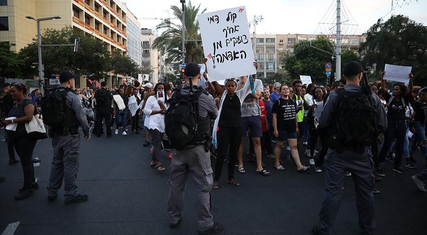 İsrail'de Etiyopyalı Yahudilerin ırkçılık karşıtı protestoları devam ediyor